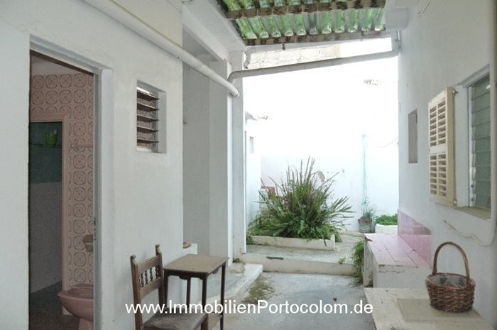 Casa en el casco antiguo de Portocolom patio2 2119