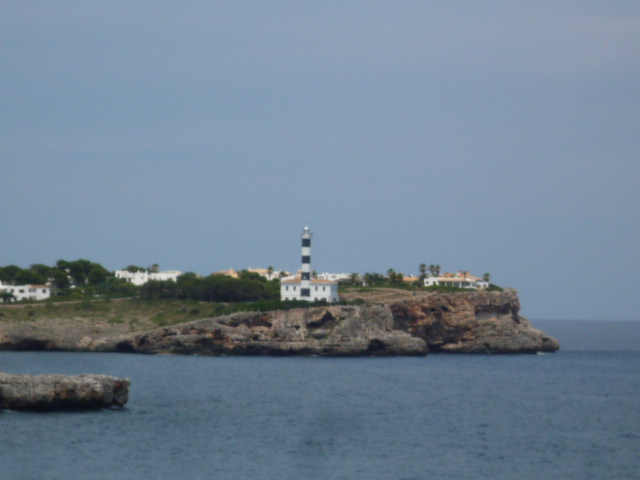 Villa Portocolom first ocean line lighthouse 8611