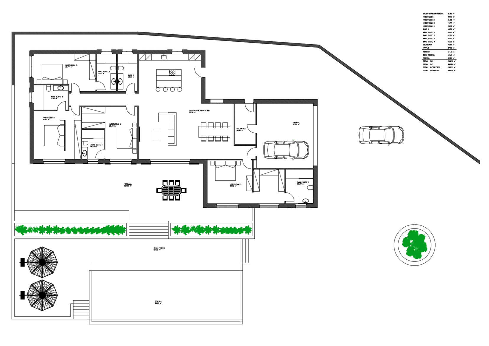Finca project S Horta plan 15119